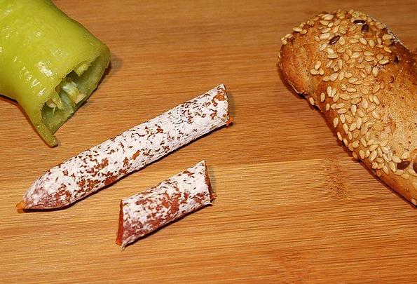 Sausage Cold Plate Salami Paprika Kornweckerl Snac