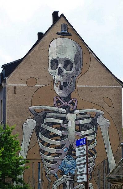 Skeleton Minimum Buildings Edge Architecture Bone