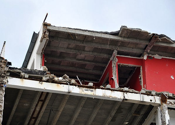 Site Place Buildings Destruction Architecture Brok