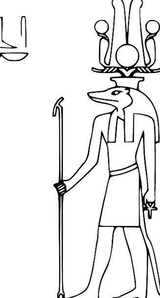 Sobek Monuments Places Hieroglyph Egyptian Alphabe