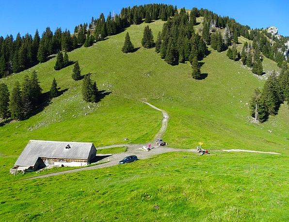 Alm Bergalp Alpine Hut Alpine Saddle Hill Foothill