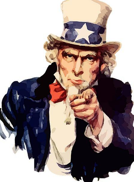 America Sam Uncle Impersonation Impression Free Ve