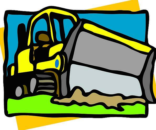 Bulldozer Earthmover Traffic Gear Transportation H