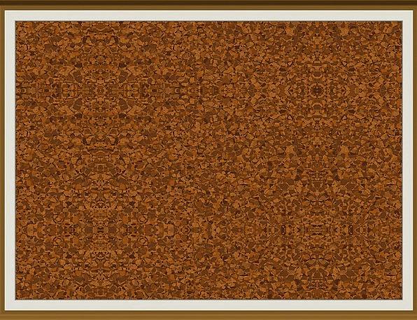 Pin Board Frame Edge Cork Wall Memo Memorandum Cor