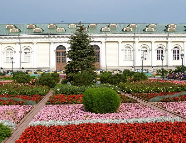Flower Bed Russia Moscow Flower Capital Wealth Fac