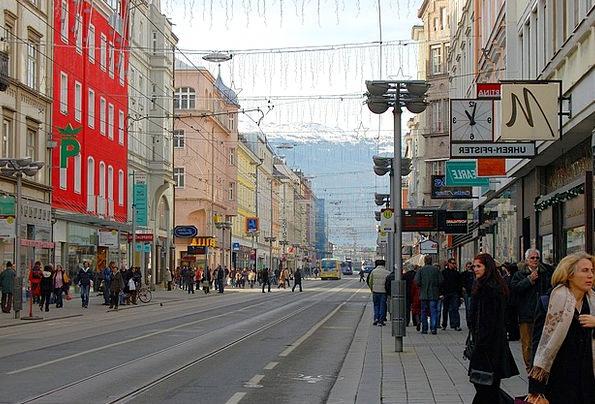 Innsbruck People Public Streetscape Human Humanoid