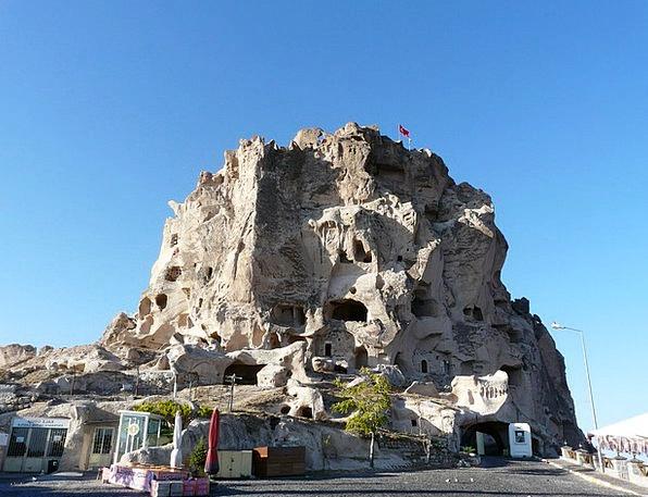 Uchisar Buildings Architecture Cappadocia Tuff Sto