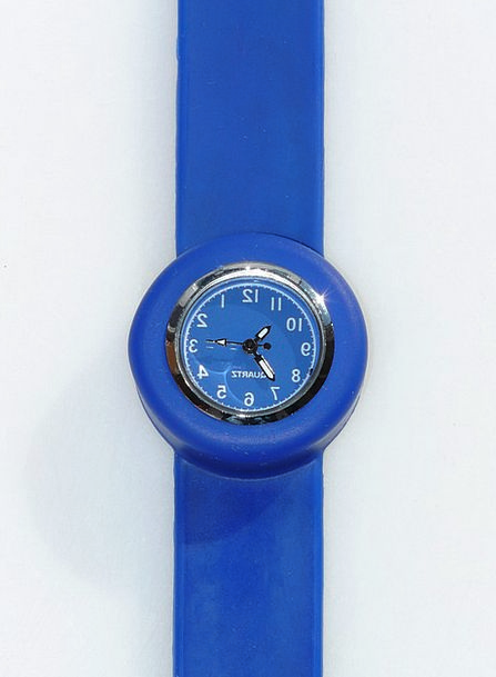 Wrist Watch Timepiece Blue Azure Clock Clock Face