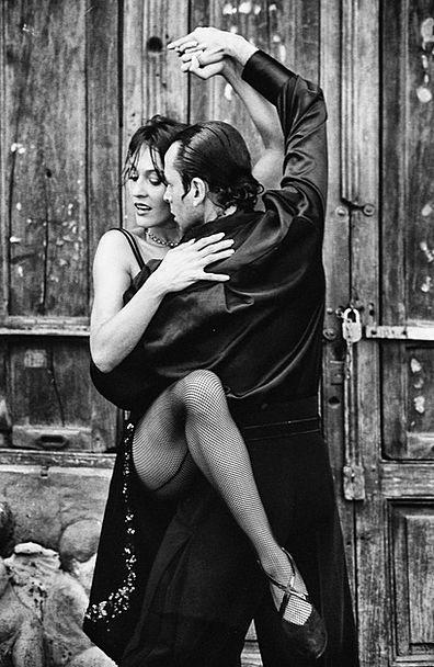 Tango Ballet Fashion Bopping Beauty Couple Twosome