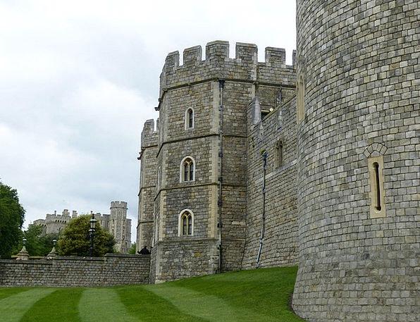 Windsor Castle Buildings Architecture Castle Winds