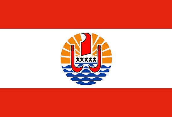 Flag Standard French Polynesia Patterns France Ban