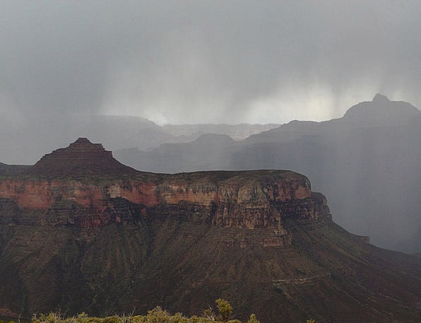 Grand Canyon Valley Thunderstorm Gorge Storm Tempe