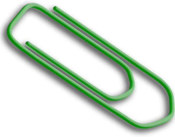 Paperclip Finance Business Office Workplace Paper-
