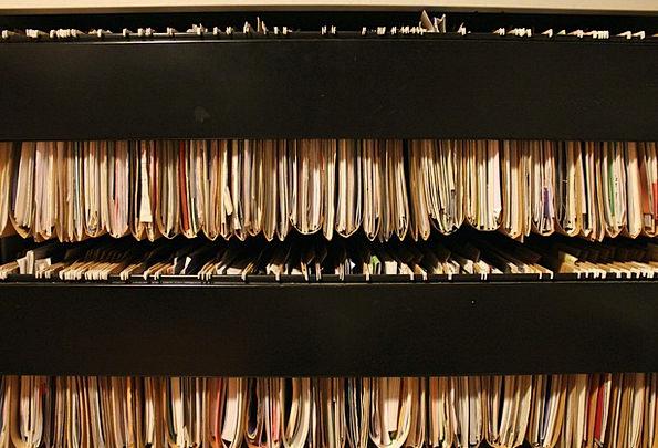 Books Records Ledge File Folder Shelf University C