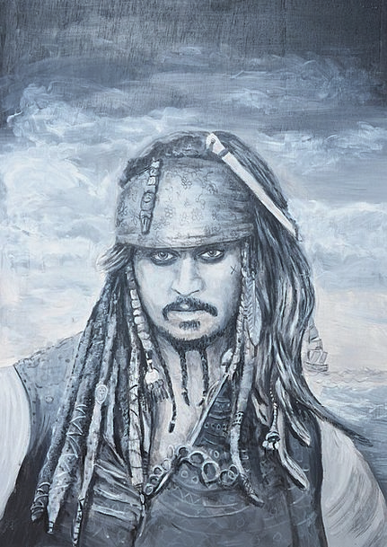 Jack Sparrow Black Pearl Pirates Of The Caribbean