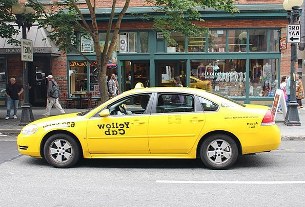 Seattle Cabs Yellow Car Taxis