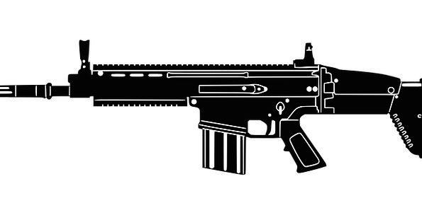 Assault Rifle Ransack Scar Mark Rifle Pistol Shoot
