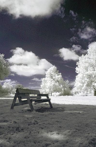 Infrared Ultraviolet Landscapes Countryside Nature