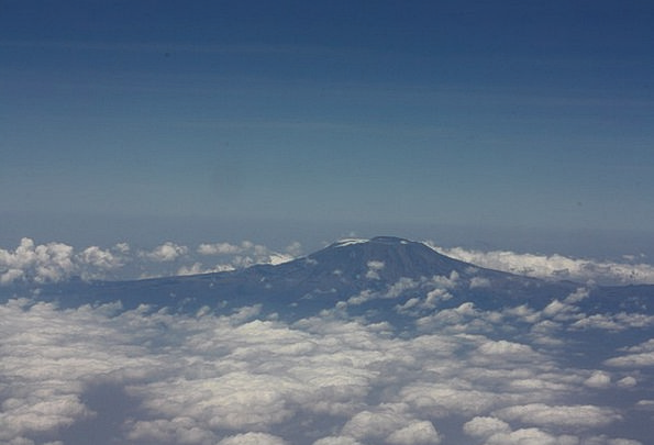 Kilimanjaro Landscapes Nature Mountain Crag Tanzan