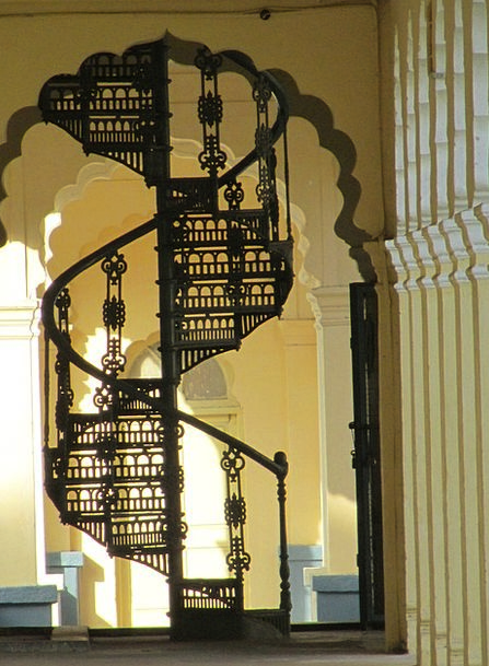 Spiral Staircase Buildings Warped Architecture Ste
