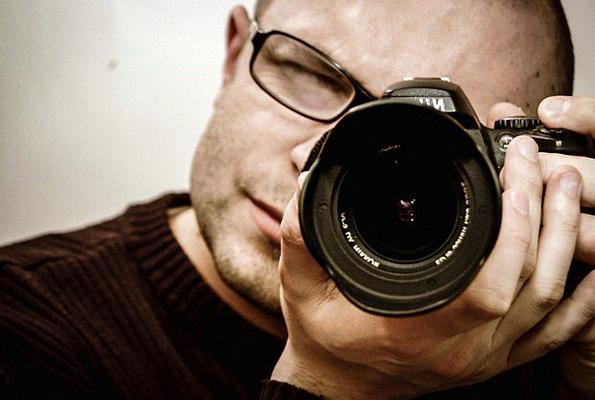 Photographer Paparazzo Photo Photograph Camera Pro