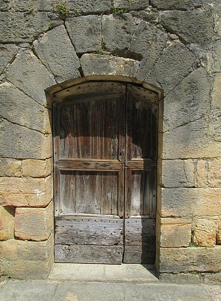Door Entrance France Sarlat Perigord Medieval Hist