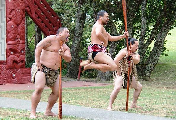 Maori Menfolk Jump Hurdle Men Tradition Hop Flight