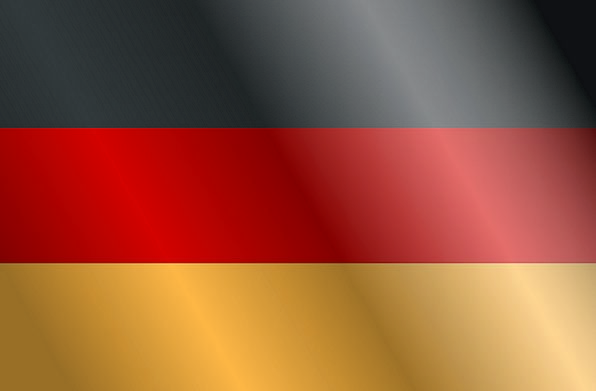 Germany Standard National Nationwide Flag Country