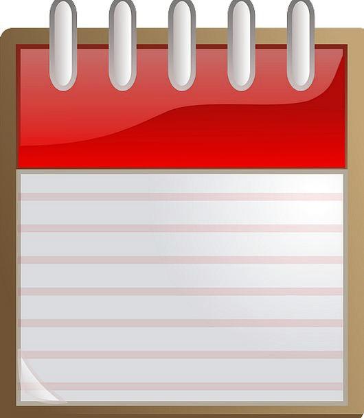 blank day calendar
