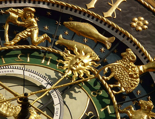 Astronomical Clock Timepiece Time Period Clock Isa