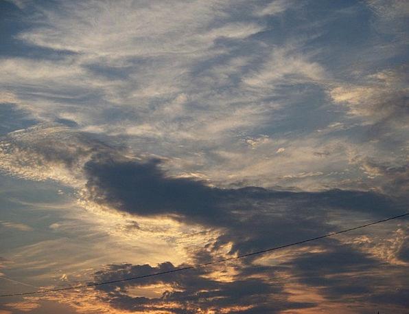 Sunset Sundown Vacation Vapors Travel Sky Blue Clo