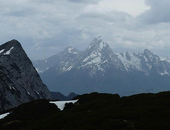Watzmann Landscapes Crag Nature Alpine Mountainous