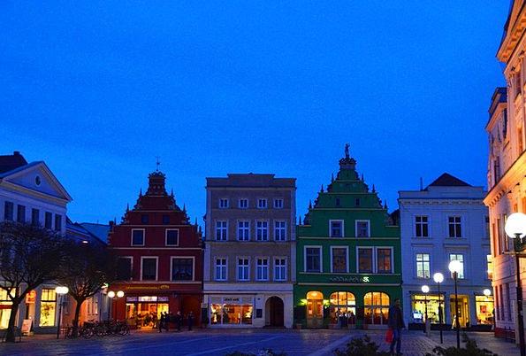 Market Mecklenburg Güstrow Marketplace Bazaar Nigh