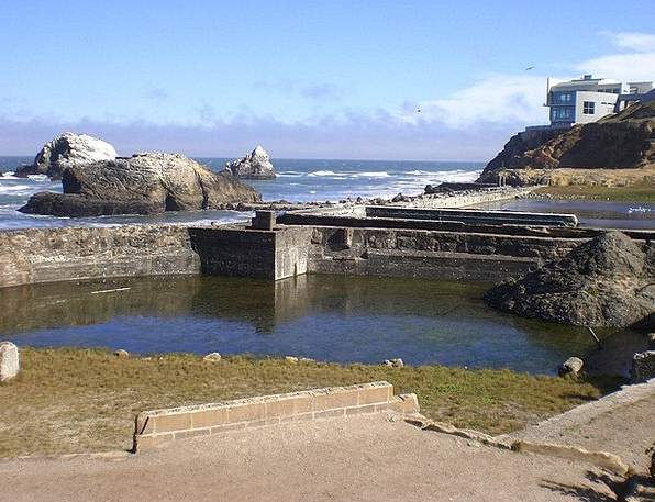 Sutro Bath Shells San Francisco Ruins