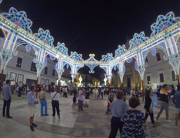Puglia Buildings Illuminations Architecture Italy