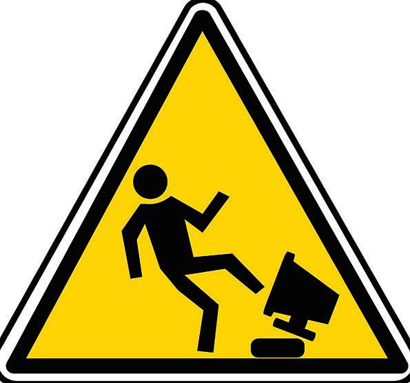 Warning Cautionary Stress Pressure Hazard Anger An