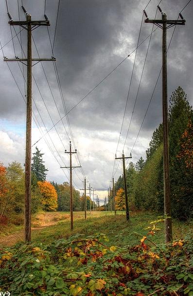 Power Lines Landscapes Nature La Electrical Landsc