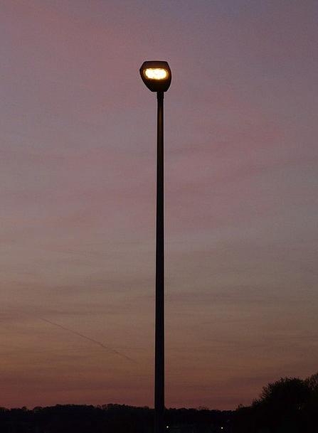 Street Lamp Abendstimmung Lantern Lamp Uplighter L