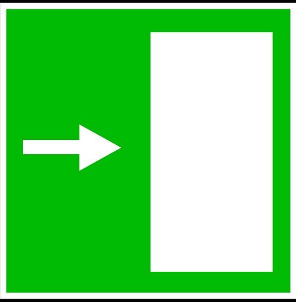 Exit Departure Ciphers Way Method Signs Doorway En