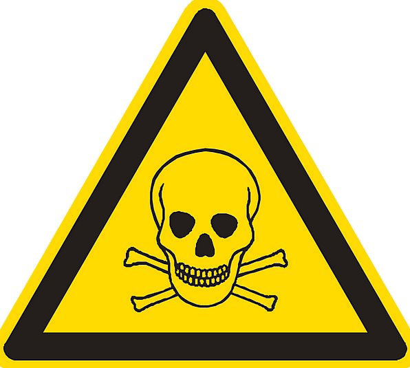 Poison Fatal Poisonous Toxic Skull And Crossbones