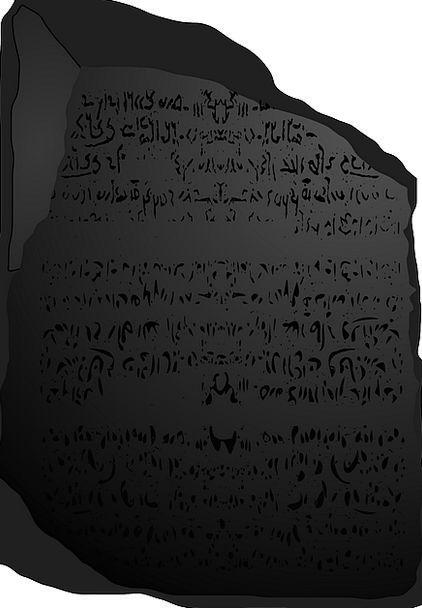 Rosetta Monuments Pebble Places Languages Tongues