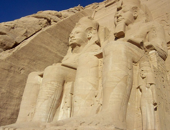 Abu Simbel Shrine Egypt Temple Pharaohs Rulers Tom