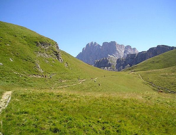 Geisler Range Hiking Mountaineering Dolomites Moun
