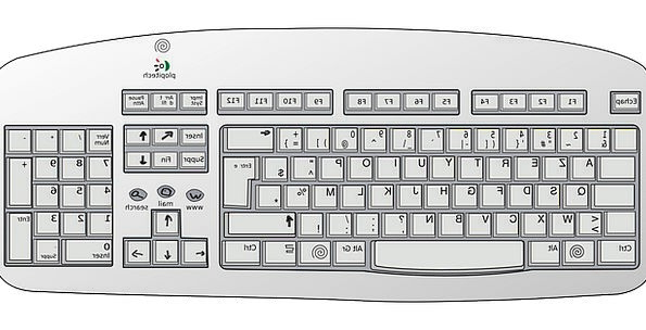 Keyboard Console Communication Processor Computer