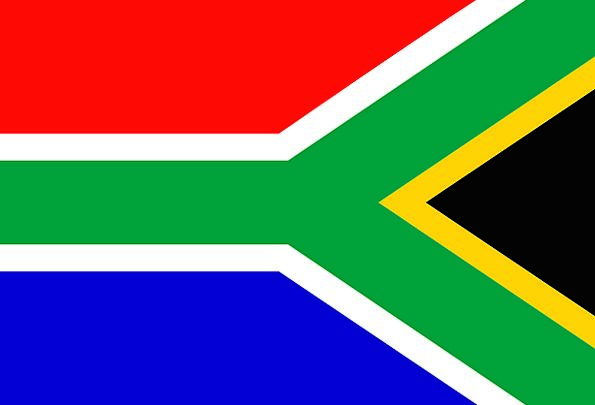 South Africa Standard National Nationwide Flag Nat