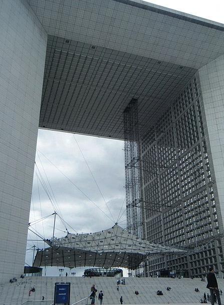 The Arc De Triomphe Buildings Region Architecture