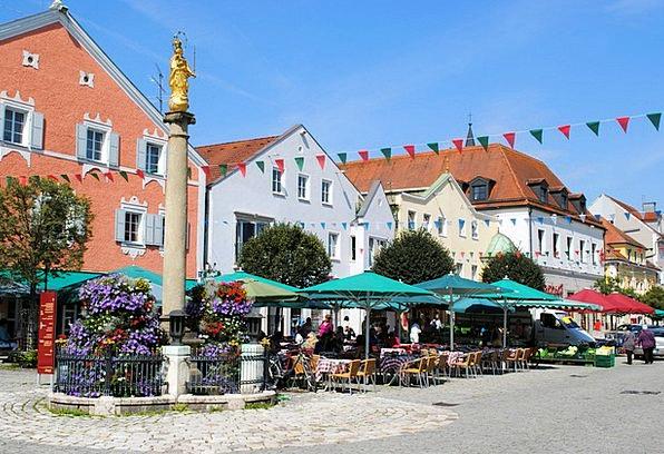 Kelheim Middle Ages Niederbayern Medieval Place Ce