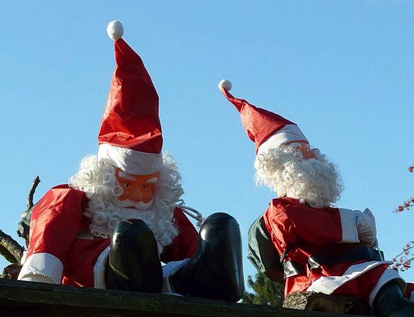 Santa Clauses Christmas Ziipfelmuetzen Dolls Toys