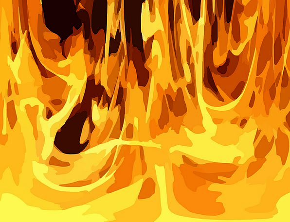Inferno Blaze Fires Fire Passion Flames Hot Warm H