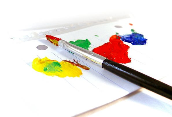 Paintings Images Dye Brush Encounter Paint Decorat